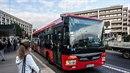 Takhle vypadají busy MHD v Bratislavě.