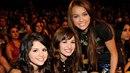 Demi Lovato, Miley Cyrus, Selena Gomez