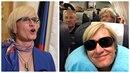Karla Šlechtová pokračuje v bizarních fotkách na sociálních sítích.