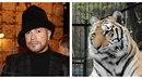 Osmany Laffita a jeho tygr Bagheera, s nímž se v březnu naposledy rozloučil.