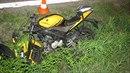 Motorkář srazil v katastru obce Branišov srnu.