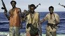 Pětice somálských pirátů si spokojeně žije v Německu.