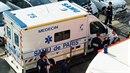 Arabsky hovořící muž chladnokrevně zavraždil cestujícího autobusu, který ho...