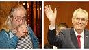 Prezident Miloš Zeman bere útoky na svoji osobu s nadhledem. Ten naopak chybí...