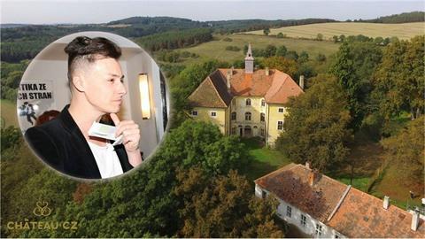 Matěj von Osečany a jeho Chateau Stropnice.
