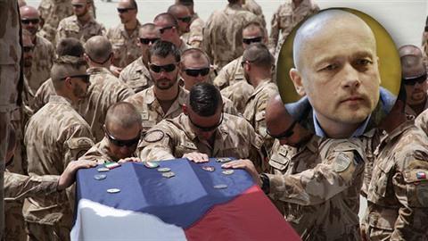 Podle Lumíra Němce by odplata za smrt tří českých vojáků přijít měla.