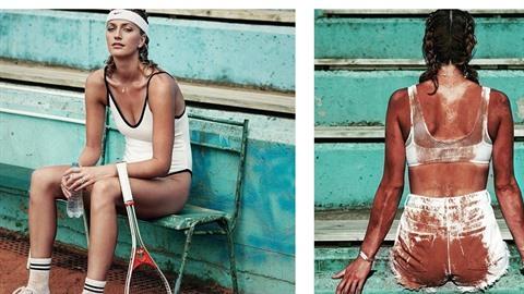Petra Kvitová nafotila sérií snímků pro Elle.