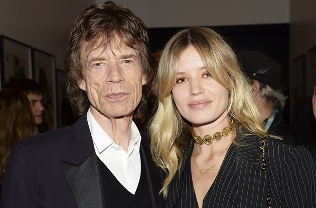 Georgina May a Mick Jagger