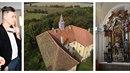 Matěj Stropnický věří, že zámku v Osečanech vrátí zašlou slávu.
