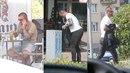 Tomáš Řepka se vrátil do hostivařského bytu, kde žije s Kateřinou Kristelovou....
