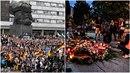Demonstrace v Chemnitzu budou ve čtvrtek pokračovat.