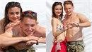 Fanoušci padnou. Josefíková a Benoni se předvedli v plavkách.