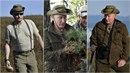 Dobrodruh Vladimir Putin na Sibiři houbaří a pozoruje divokou zvěř.