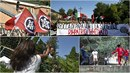 Proti umístění uprchlíků z Diciotti protestují místní i krajní pravice, sešli...