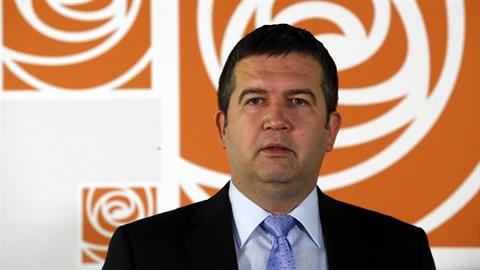 Předseda strany Jan Hamáček