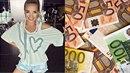 Lucie Vondráčková požaduje výživné v hodnotě 500 tisíc korun měsíčně plus 119...