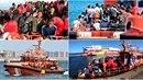Počet migrantů připlouvajících z Libye klesl o více než 80%.