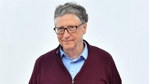 Druhý nejbohatší muž na světě, matematik a vizionář Bill Gates.