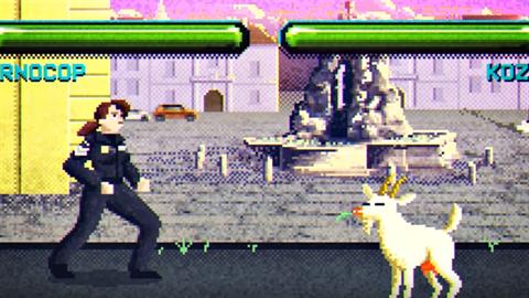 Brnocop v náborovém spotu bojuje s kozou, protože častou prací strážníků je...