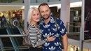 Marek Dědík a jeho krásná žena poprvé od porodu na veřejnosti bez syna Bertrama.