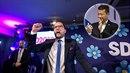 Švédští demokraté ve volbách získali vysoké procento hlasů a rozdělili celou...