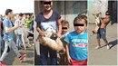 Děti v romských osadách na východě Slovenska mají naprosto nechutnou zábavu.