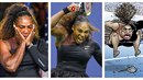 Serena Williams je horká hlava. Navíc poslední dobou nezažívá zrovna šťastné...