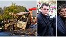 Děsivá nehoda na D11. Dvě auta shořela, za volentem mercedesu byl údajně Jan...