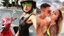 Blogerka Nela Slováková se hádá o motorku, kterou jí měl věnovat bývalý přítel.