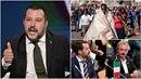 Italský ministr Matteo Salvini si za svá slova zase vysloužil kritiku....