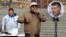 Raper McGives rozjel při akci Kolektivu 115 nenávistnou show vůči předsedovi...