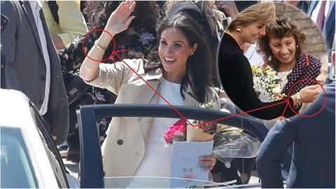 Meghan nosí náramek po Lady Dianě.