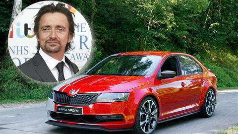 Rapidu podlehl i Richard Hammond.