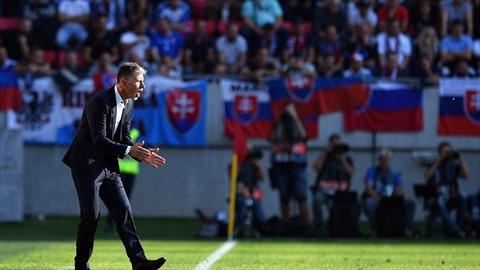 Nový trenér fotbalové reprezentace Jaroslav Šilhavý slaví velkou výhru: Tým...