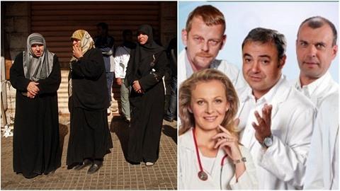 """Podle studie by se muslimové měli objevovat v českých """"mýdlových operách""""...."""