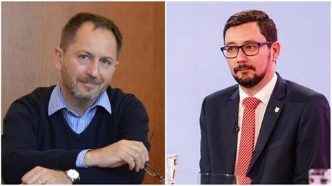 Tiskový mluvčí Filozofické fakulty Univerzity Karlovy Petr Kukal a mluvčí...