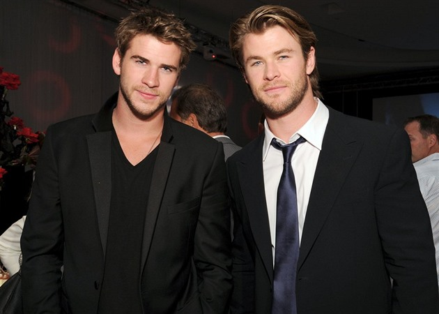 Chris a Liam Hemsworth