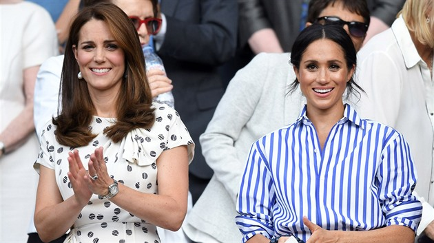 Kate Middleton a Meghan Markle