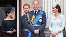 Meghan a Harry poněkud zastínili první královský pár.