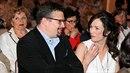 Tereza Kostková s režisérem Jakubem Nvotou, kterého si měla na konci léta vzít.