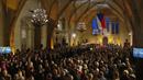 Předávání vyznamenání ve Vladislavském sále.