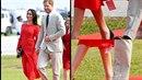 Meghan Markle s prince Harrym na souostroví Tonga. Vévodkyně nechala visačku na...