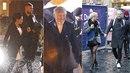 Lucie Bílá bez deštníku, Tamara Klusová vkusu a Karel Gott s úsměvem na tváři....