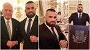 Populární MMA zápasník Karlos Vémola si večer na Pražském hradě patřičně užil.