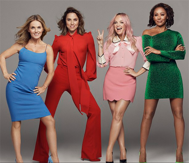 Spice Girls ohlásily turné 2019.