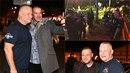 Na tour Mika Tysona proběhlo i menší setkání s Jiřím Kajínkem.