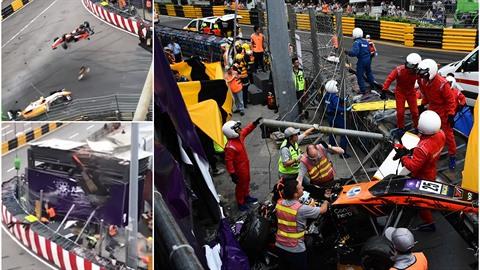 V Macau došlo k tragické nehodě, závodkyně přežila vlastní smrt.
