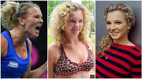 Tohle je nástupkyně Petry Kvitové! Sexy tenistku Kateřinu Siniakovou na vrchol...