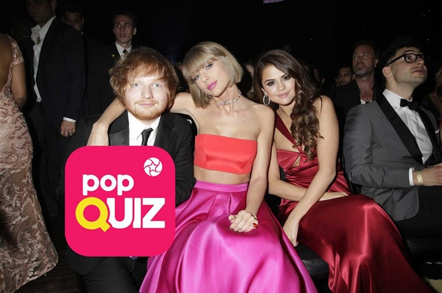 Ed Sheeran, Taylor Swift a Selena Gomez