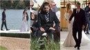 Andrej Babiš mladší na svatbě svého otce.